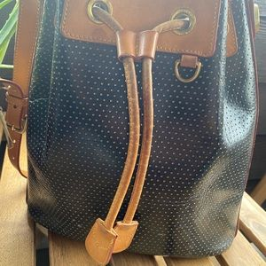 Used Dooney & Bourke Bucket Bag